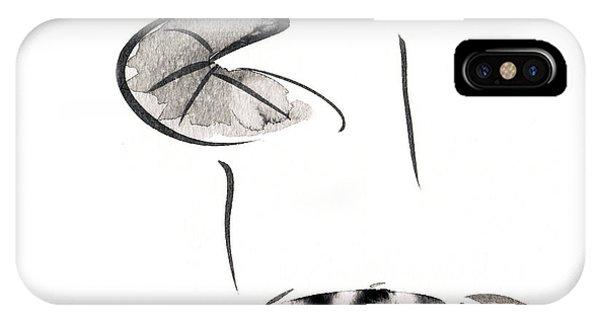 Zen Fish Painting IPhone Case
