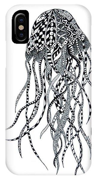 Zen Jellyfish IPhone Case