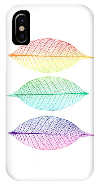 Leaf iPhone Case - Zen Leaves by Delphimages Photo Creations