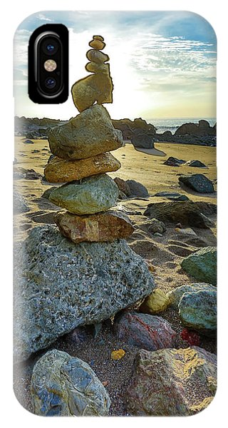 Zen Rock Balance IPhone Case