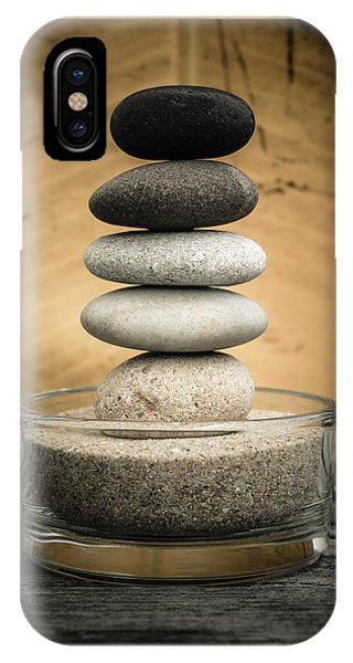 Zen Stones I IPhone Case