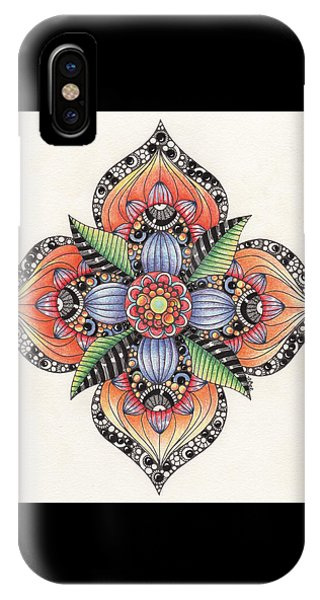 Zendala Template #1 IPhone Case