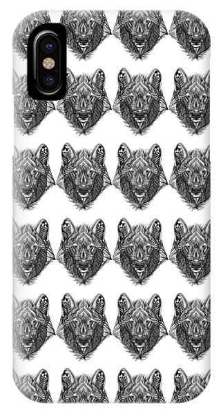 Zendoodle Wolf IPhone Case