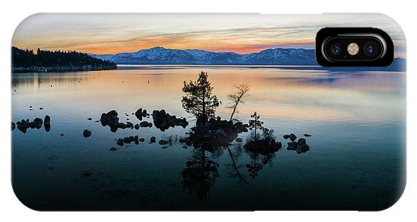 Zephyr Cove Tree Island By Brad Scott IPhone Case