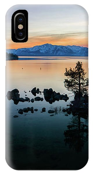 Zephyr Cove Tree Island By Brad Scott IPhone Case