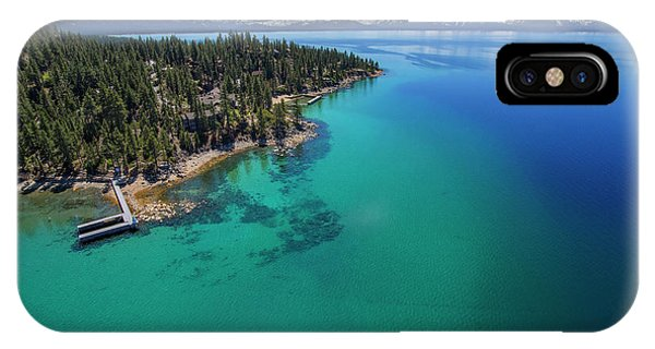 Zephyr Point Aerial IPhone Case