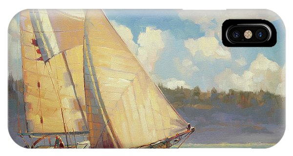 Sailboat iPhone Case - Zephyr by Steve Henderson