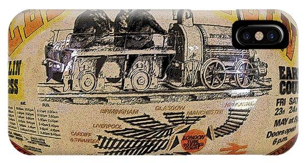 Zeppelin Express Work B IPhone Case
