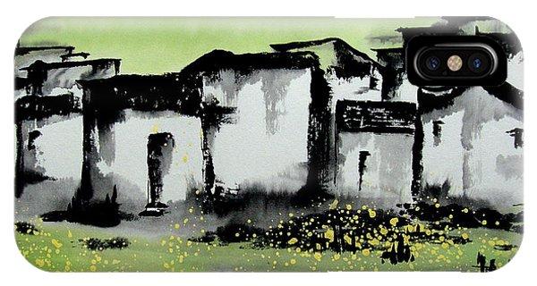 China Town iPhone Case - Zhongguo Cun - Chinese Village by Birgit Moldenhauer