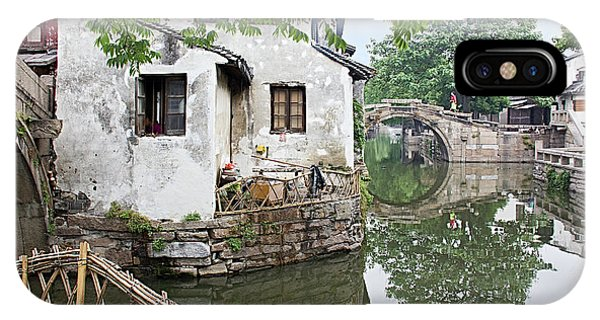 Zhouzhuang - A Watertown IPhone Case
