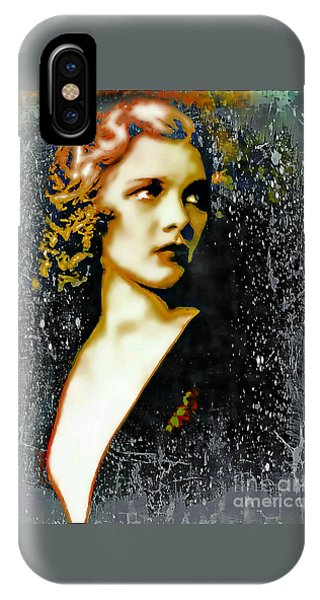Ziegfeld Follies Girl - Drucilla Strain  IPhone Case