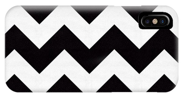 Zig Zag Pattern IPhone Case