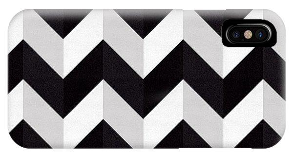 Zig Zag - Shadow IPhone Case