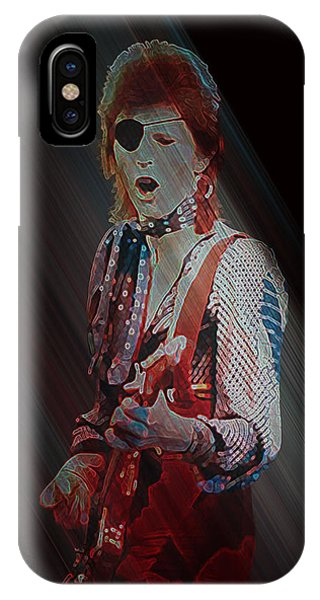 Ziggy Played Guitar IPhone Case