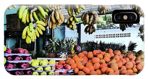 Zihuatanejo Market IPhone Case