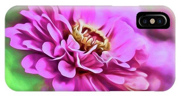 Zinnia Art 2 IPhone Case