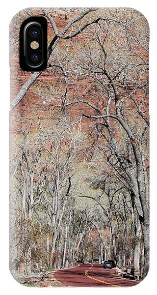 Zion At Kayenta Trail IPhone Case
