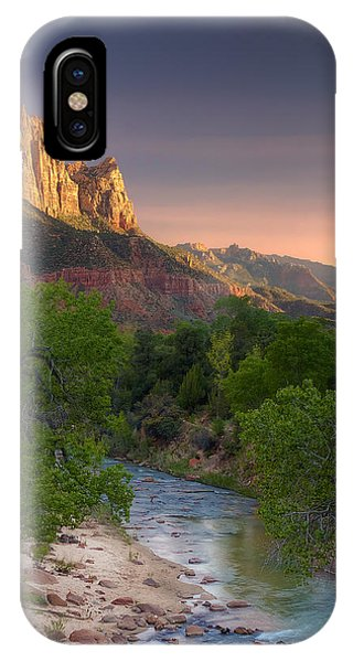 Zion Canyon Sunset IPhone Case