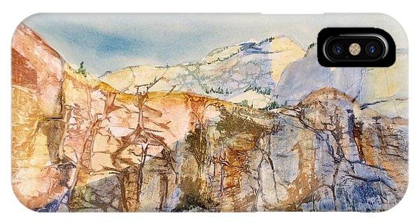 Zion Cliffs IPhone Case