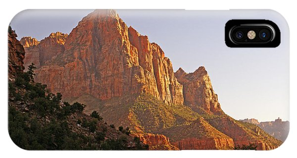 Zion Lower Canyon Panorama IPhone Case