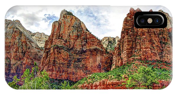 Zion N P # 41 - Court Of The Patriarchs IPhone Case