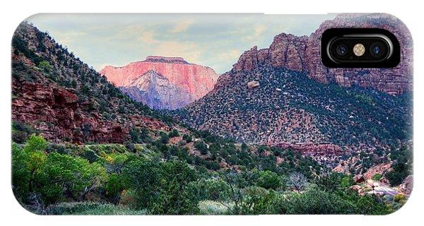 Zion National Park IPhone Case