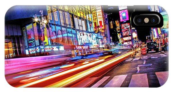 Times Square iPhone Case - Zip by Az Jackson
