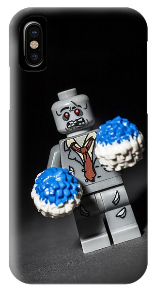 Zombies iPhone Case - Zombie Cheerleader  by Samuel Whitton