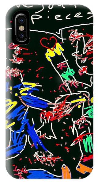 Dark Humor iPhone Case - Zombie Love by Kathy Barney