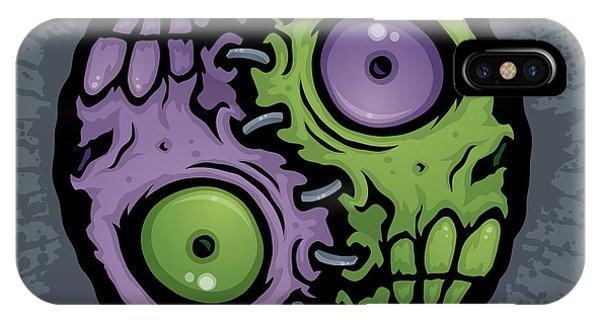 Zombie Yin-yang IPhone Case
