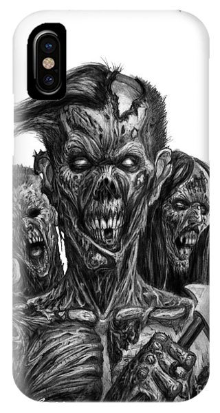 Zombies  IPhone Case