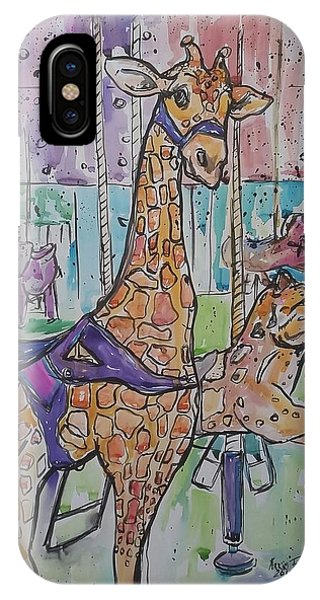 iPhone Case - Zoo Atlanta Carousel  by Arrin Burgand