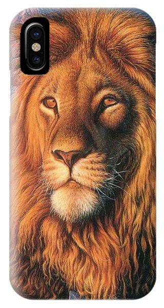 Zoofari Poster The Lion IPhone Case