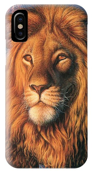 Zoofari Poster The Lion IPhone Case