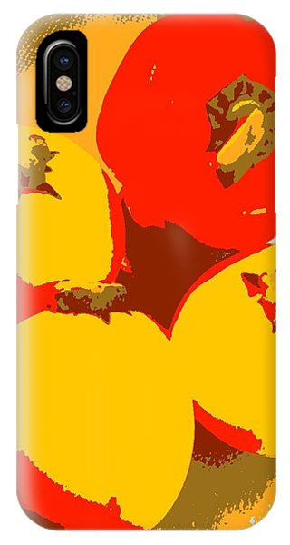 iPhone Case - Zucchini And Bell Pepper by Kumiko Izumi