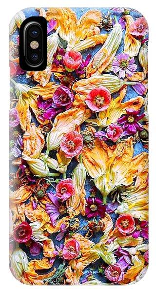 Zucchini Blossoms Season IPhone Case
