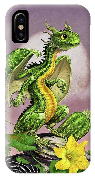 Zucchini Dragon IPhone Case