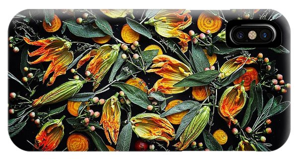 Zucchini Flower Patterns IPhone Case