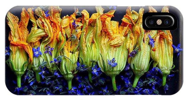 Zucchini Flowers IPhone Case
