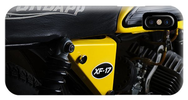 Classic Zundapp Bike Xf-17 Side View IPhone Case