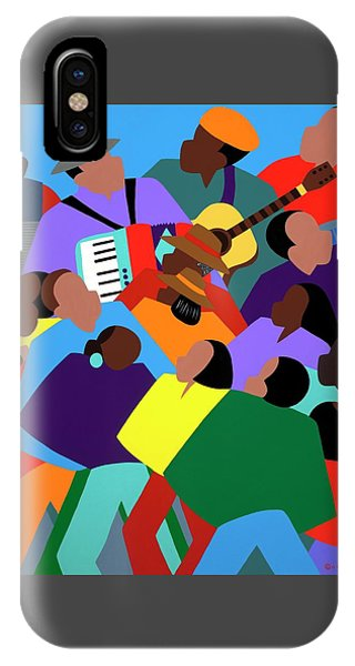 Zydeco IPhone Case