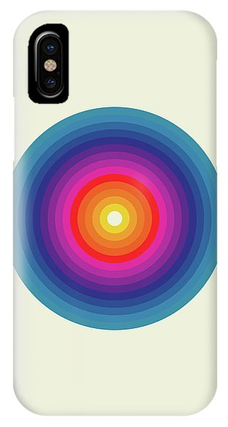 Explosion iPhone X Case - Zykol by Nicholas Ely