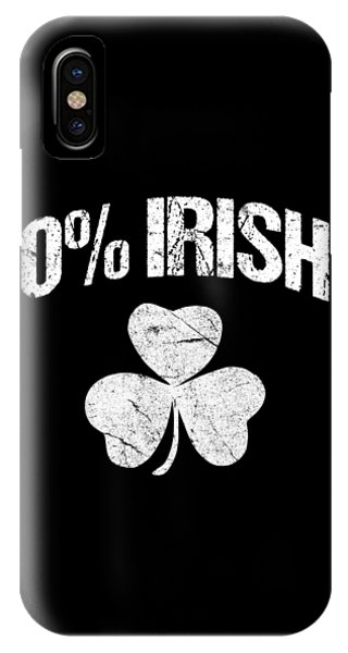 St. Patricks Day iPhone Case - 0 Irish by Flippin Sweet Gear