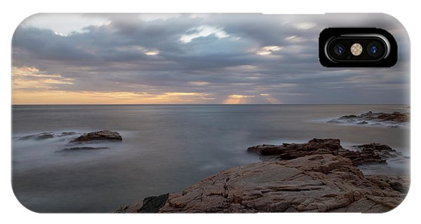 Sunrise On The Costa Brava IPhone Case