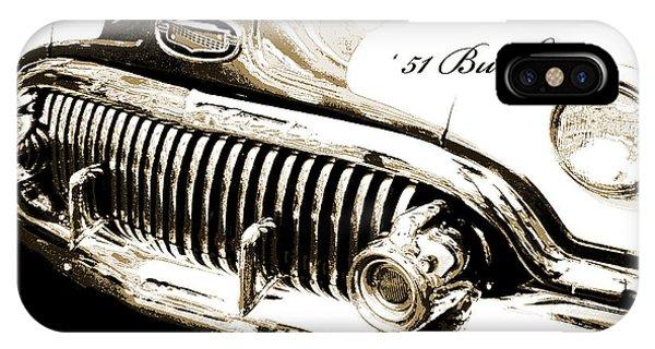 1951 Buick Super, Digital Art IPhone Case