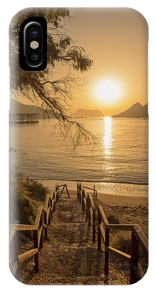 Access To The Beach At Dawn IPhone Case