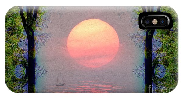 IPhone Case featuring the digital art A New Day by Edmund Nagele