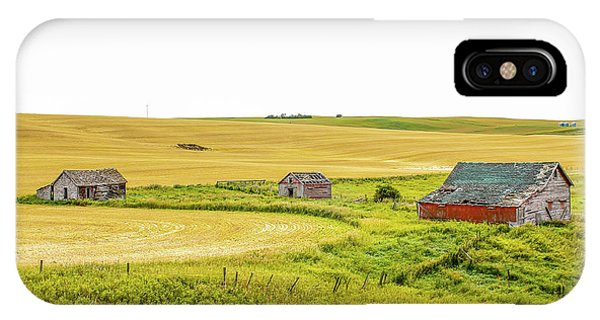 A Sign Of The Times, Run Diown Farm Out Buildings And Barns, Alb IPhone Case