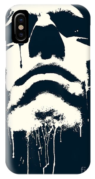 One iPhone Case - Abstract Portrait by Tudor Catalin Gheorghe