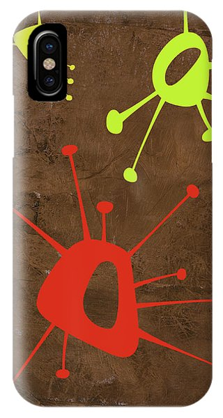 Century iPhone Case - Abstract Splash Theme Xx by Naxart Studio